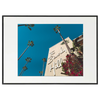 Foto con cornice - Beverly Hills Hotel - Los Angeles - California - 50x70cm