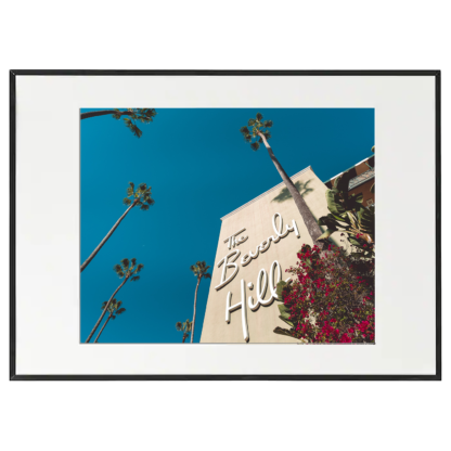 Foto con cornice - Beverly Hills Hotel - Los Angeles - California - 50x70cm