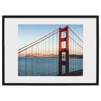 golden gate art decorationframed san francisco