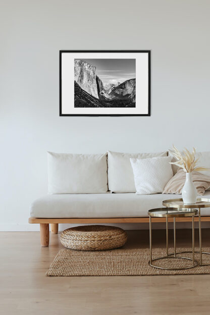 yosemite california bw print for sale framed
