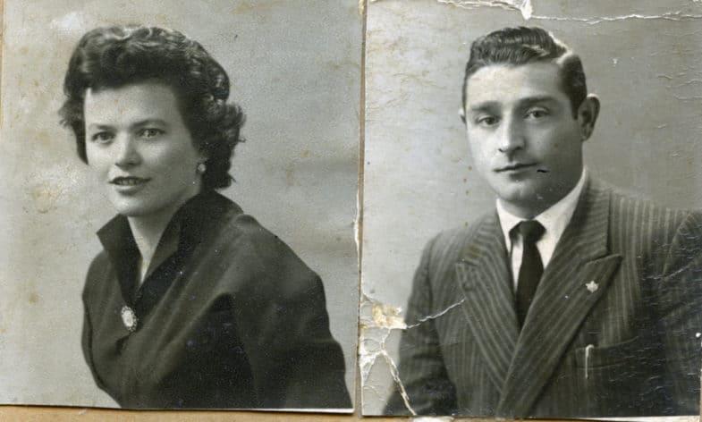 Restauro foto d'epoca o rovinate